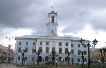Чернівецька-міска-рада-Ратуша
