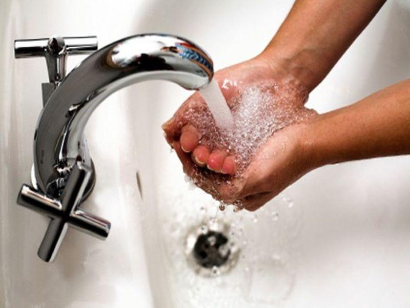 вода руки