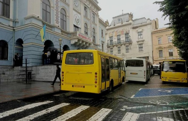 автобус маршрутка