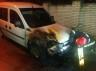 Невідомі підпалили машину начальника інспекції з благоустрою Сергія Обшанського