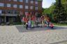 Біля дитячої поліклініки на проспекті Незалежності облаштували парковку на 40 місць (відео)